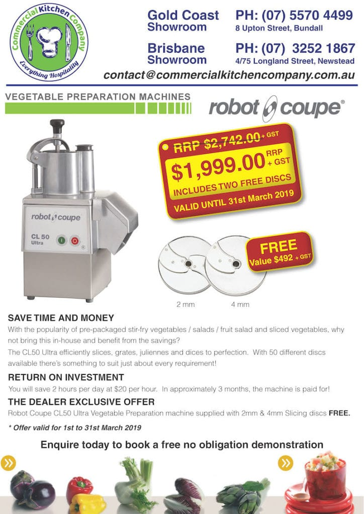 Robot Coupe CL50 Ultra Commercial Kitchen Company Exclusive Deal