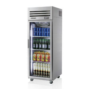 SRT25-1G Glass Door Fridge