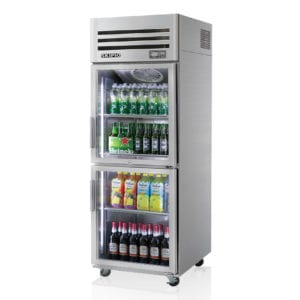 SRT25-2G Glass Door Fridge