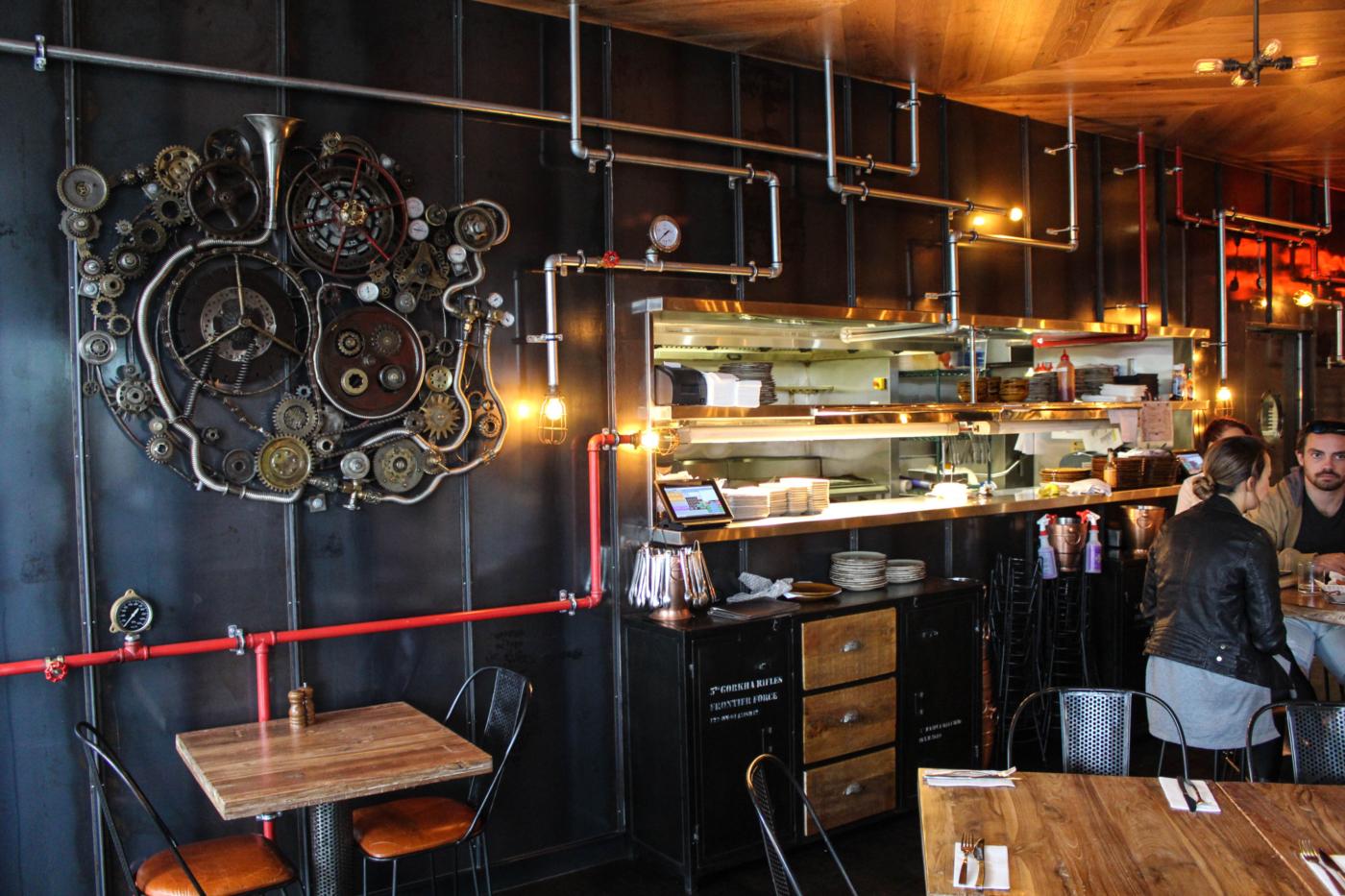 Commercial kitchen restaurant pub café fitouts gold