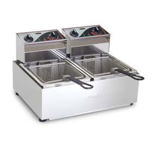 Roband F25 Double Pan Fryer