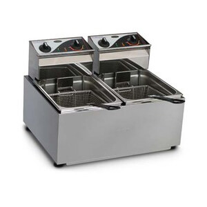 Roband F28 Double Pan Fryer