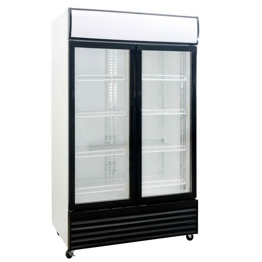 ICE DFS1000 Double Door Fridge