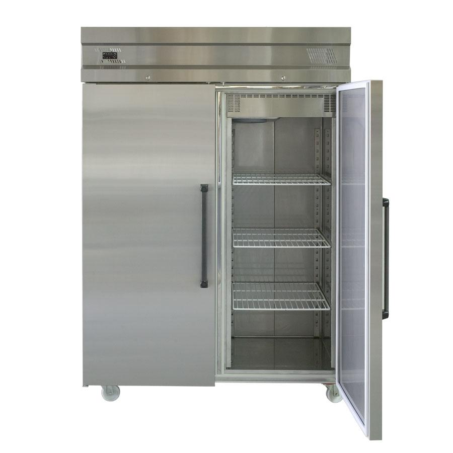 ICE UFI1140 Double Door Upright Fridge