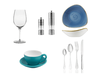 Glassware Cutlery Crockery Tableware