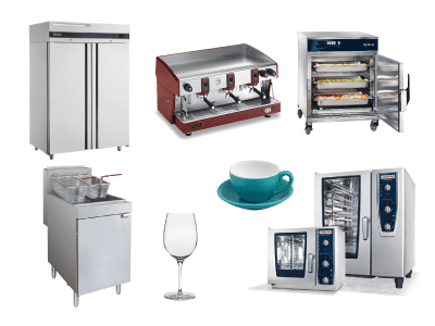 Commercial Kitchen Equipment Tile